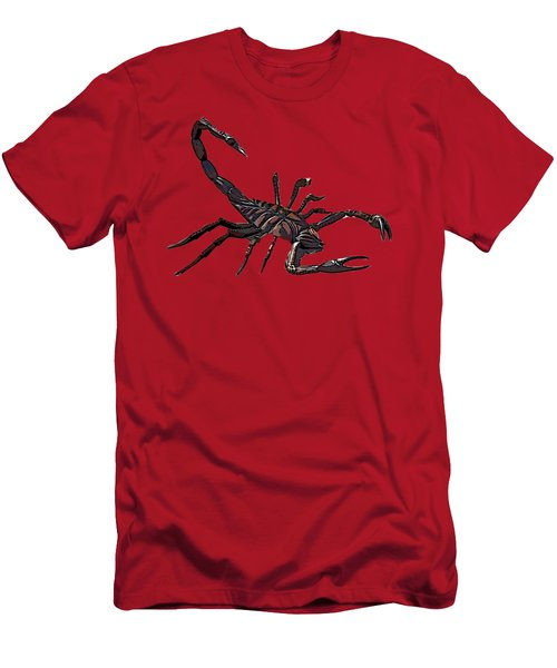 Scorpion Art  Men's T-Shirt (Athletic Fit)