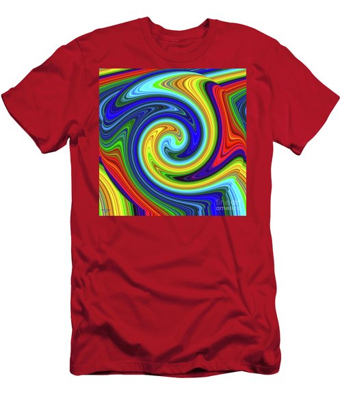 Sea Of Colors Men's T-Shirt (Athletic Fit)