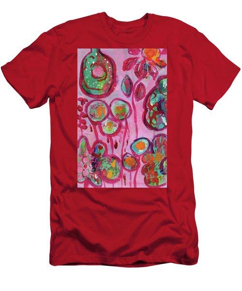 Secret Life Of Flowers Men's T-Shirt (Athletic Fit)