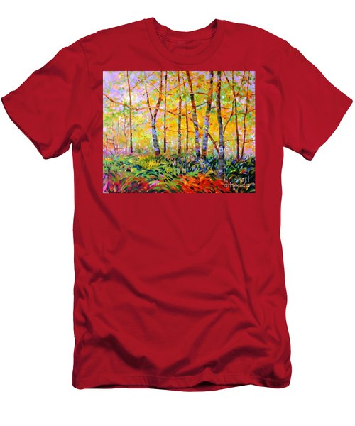 Serenade Of Forest Men's T-Shirt (Athletic Fit)