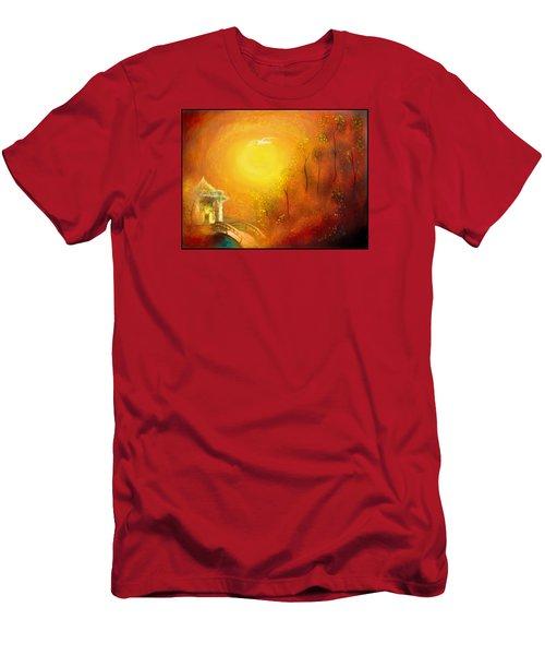 Serenity Men's T-Shirt (Slim Fit) by Michael Cleere