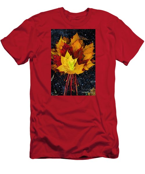 Shade Of Autumn  Men's T-Shirt (Athletic Fit)