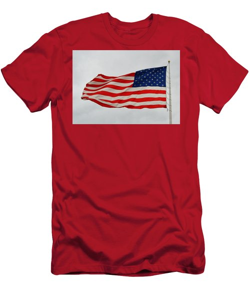 Sign Of Freedom Men's T-Shirt (Athletic Fit)