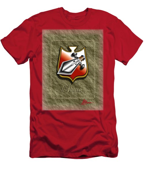 Simeon Shield Shirt Men's T-Shirt (Athletic Fit)