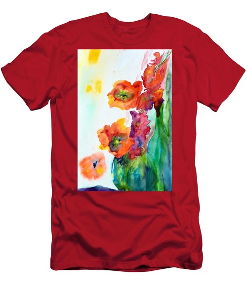 Sing Out Men's T-Shirt (Slim Fit) by Beverley Harper Tinsley
