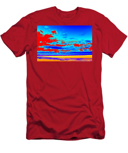 Sky #3 Men's T-Shirt (Athletic Fit)