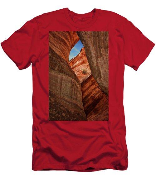 Slot Canyon - Window Men's T-Shirt (Athletic Fit)