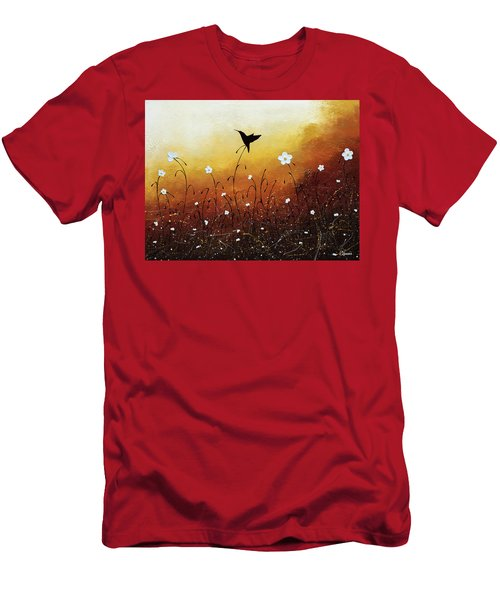 Men's T-Shirt (Slim Fit) featuring the painting Small Treasure by Carmen Guedez