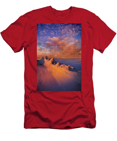 Men's T-Shirt (Slim Fit) featuring the photograph So It Begins by Phil Koch