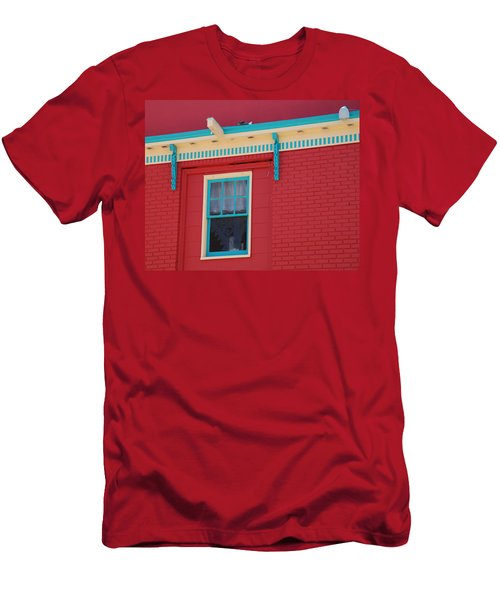 Men's T-Shirt (Slim Fit) featuring the photograph Solitary Window by Richard Bryce and Family