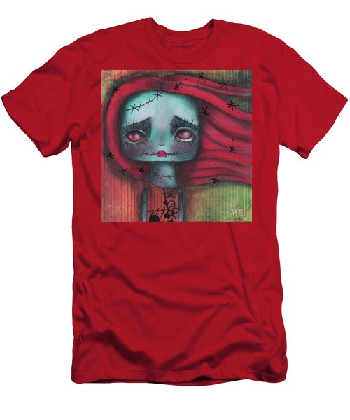 Something In The Wind Men's T-Shirt (Slim Fit) by Abril Andrade Griffith