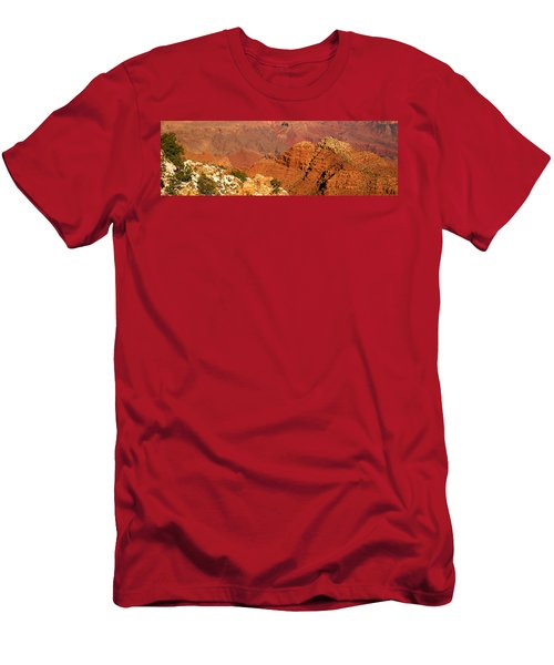 South Rim Of The Grand Canyon, Arizona Men's T-Shirt (Athletic Fit)