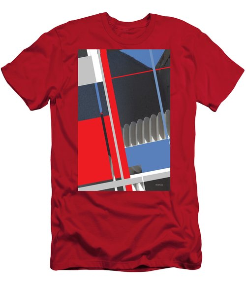 Spaceframe 2 Men's T-Shirt (Slim Fit) by Andrew Drozdowicz