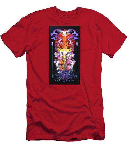 Spark Of Nature Men's T-Shirt (Slim Fit) by Alan Johnson