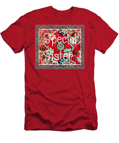 Special Sister Men's T-Shirt (Athletic Fit)