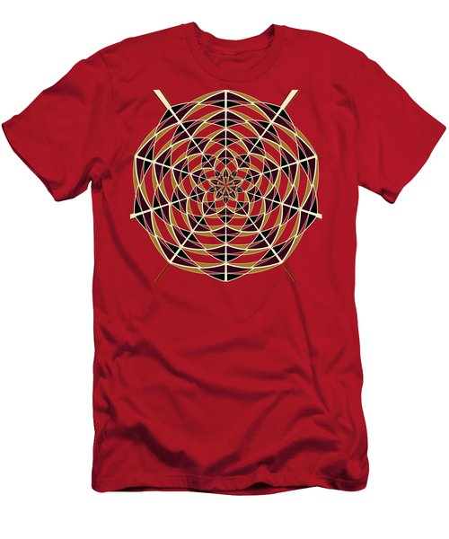 Spider Web Men's T-Shirt (Slim Fit)