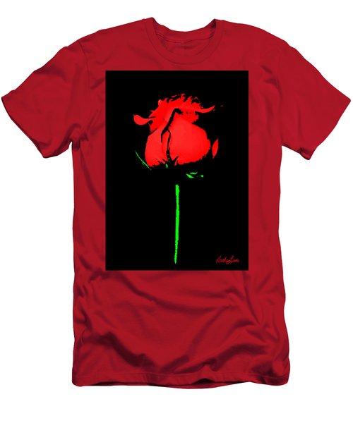 Splash Of Ink Men's T-Shirt (Athletic Fit)