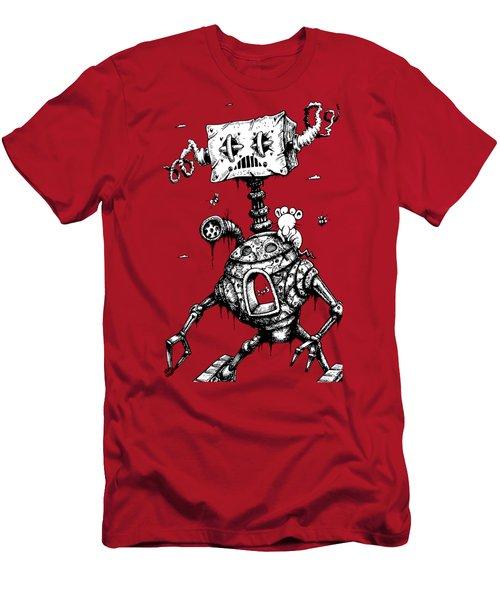 Sponge Head Men's T-Shirt (Athletic Fit)