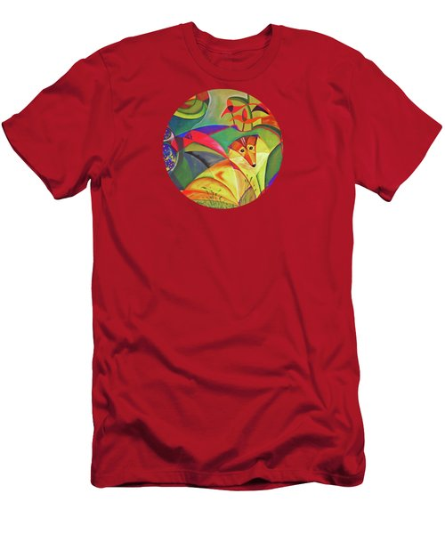 Spring Dog Men's T-Shirt (Slim Fit) by AugenWerk Susann Serfezi