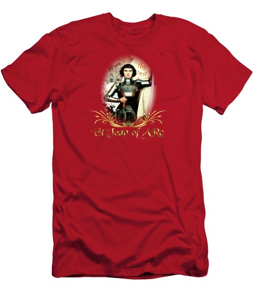 St Joan Of Arc - Jeanne D'arca Men's T-Shirt (Athletic Fit)