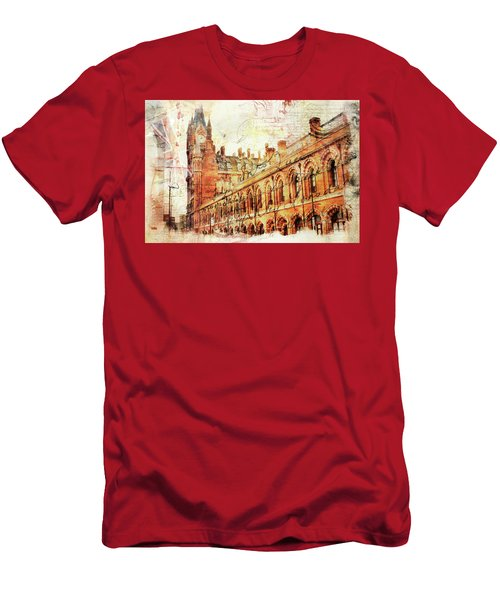 St Pancras Men's T-Shirt (Slim Fit) by Nicky Jameson
