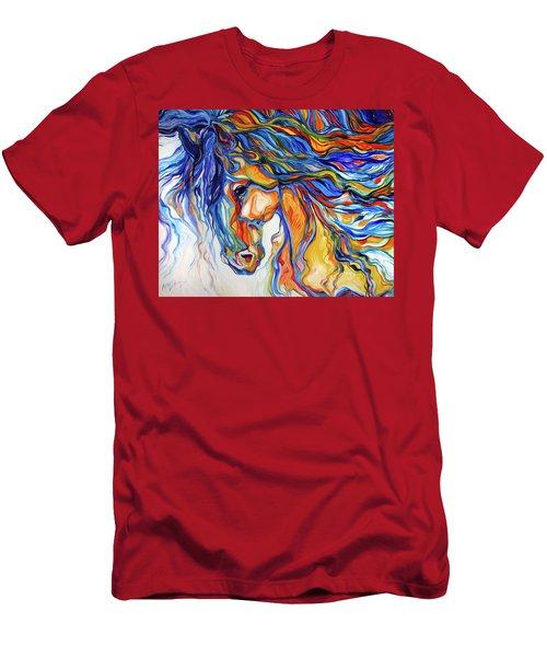 Stallion Southwest By M Baldwin Men's T-Shirt (Athletic Fit)