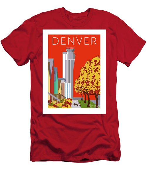 Men's T-Shirt (Athletic Fit) featuring the digital art Stapleton Fall by Sam Brennan