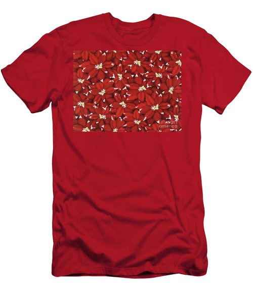 Starlight Christmas V Men's T-Shirt (Athletic Fit)