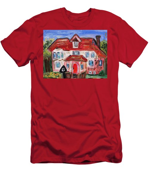 Stately City House Men's T-Shirt (Slim Fit) by Mary Carol Williams