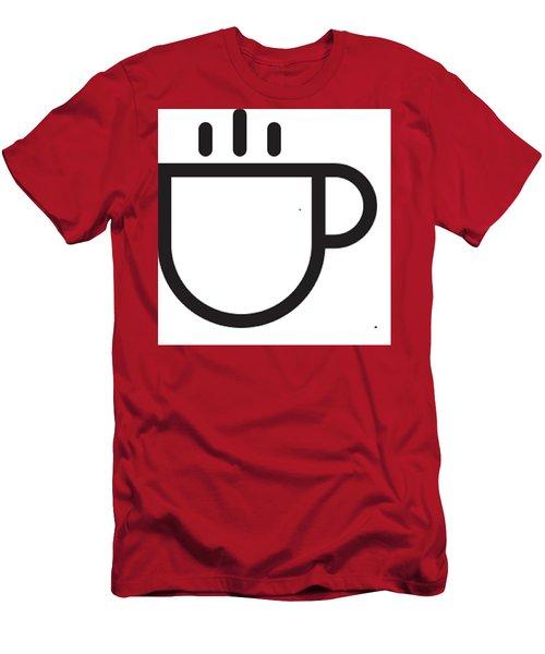 Steamed Men's T-Shirt (Slim Fit)