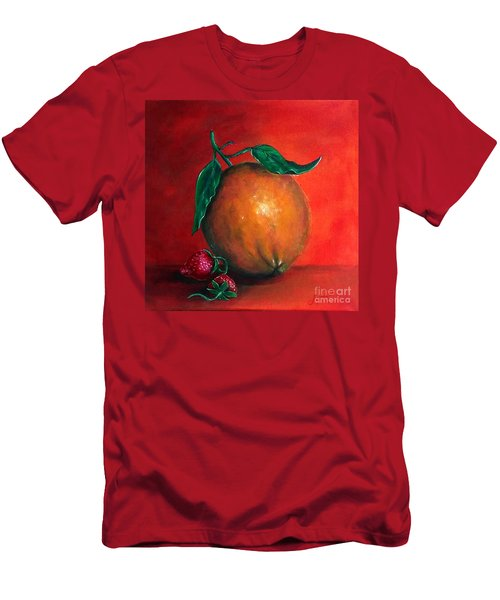 Men's T-Shirt (Athletic Fit) featuring the painting Still Life #1 by Thomas Lupari