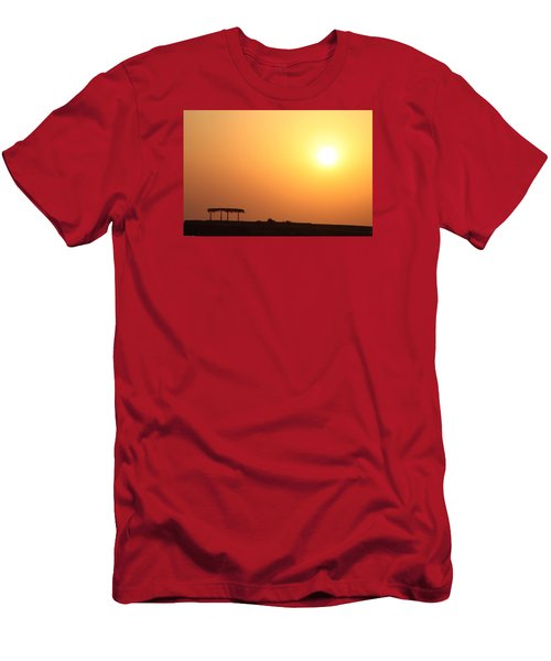 Men's T-Shirt (Slim Fit) featuring the photograph Still Out Of The Shade by Jez C Self