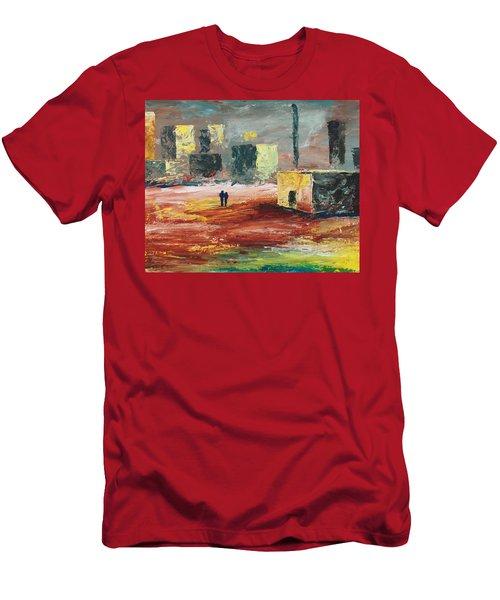 Strange Land Men's T-Shirt (Athletic Fit)