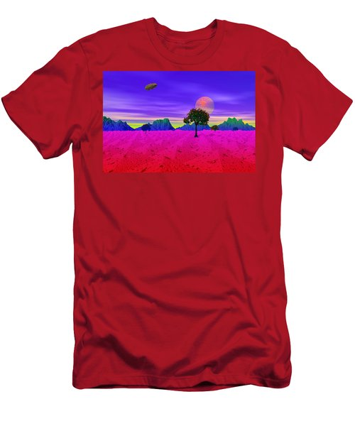 Strangely Place Men's T-Shirt (Athletic Fit)