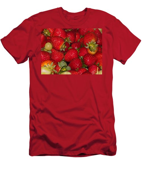 Strawberries 731 Men's T-Shirt (Athletic Fit)