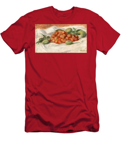 Strawberries And Almonds Men's T-Shirt (Athletic Fit)