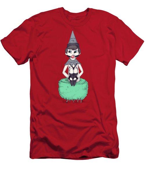 Sub On The Shrub Men's T-Shirt (Athletic Fit)
