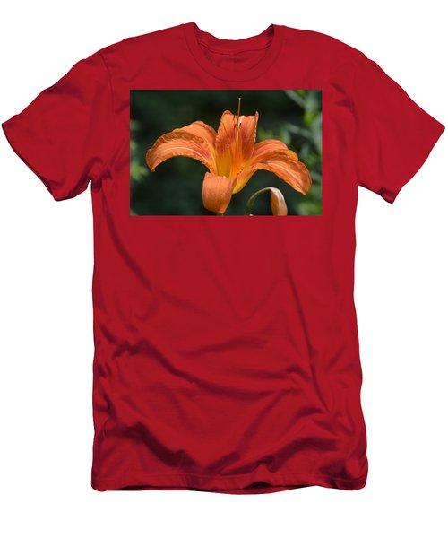 Summer Bloom-3 Men's T-Shirt (Athletic Fit)