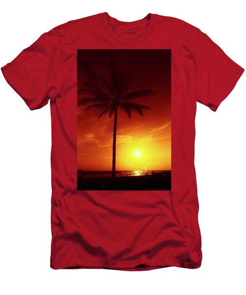 Summer By The Sea Men's T-Shirt (Athletic Fit)