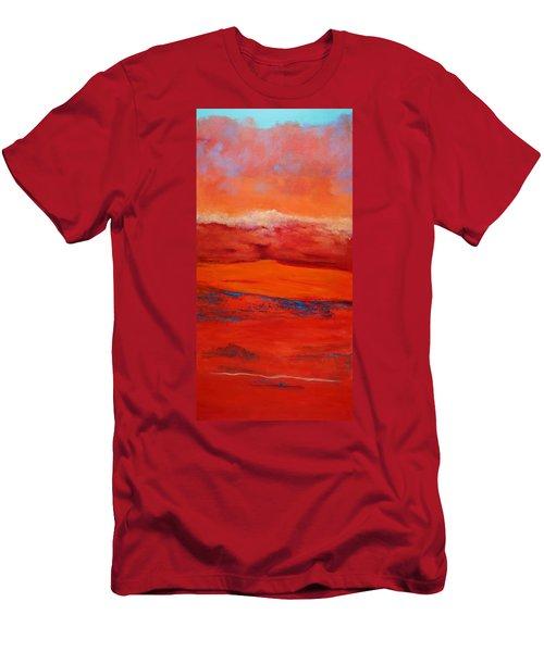 Summer Heat 12 Men's T-Shirt (Slim Fit) by M Diane Bonaparte
