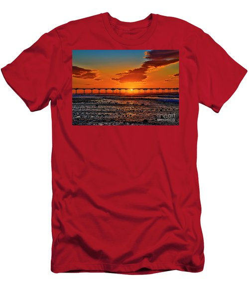 Summer Solstice Sunset Men's T-Shirt (Athletic Fit)