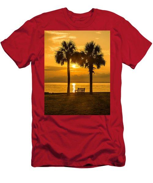 Summer Sunrise - Charleston Sc Men's T-Shirt (Athletic Fit)