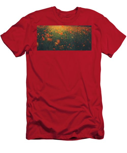 Men's T-Shirt (Slim Fit) featuring the photograph Summertime by Shane Holsclaw