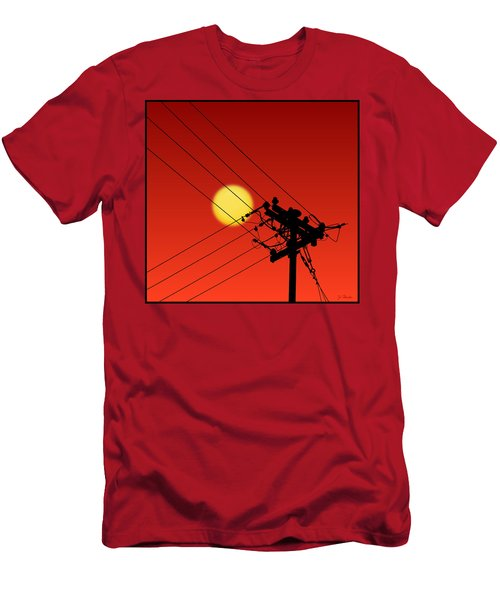 Sun And Silhouette Men's T-Shirt (Athletic Fit)