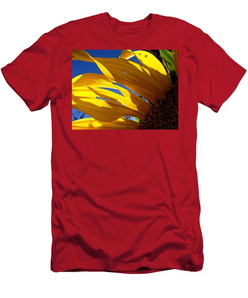 Sunflower Shadows Men's T-Shirt (Athletic Fit)
