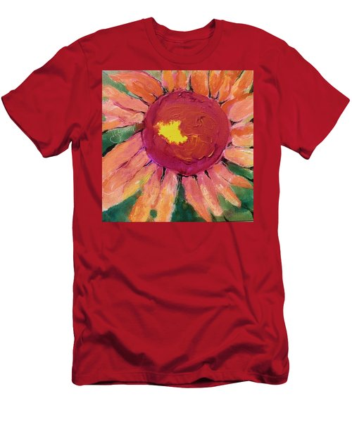 Sunny Flower Men's T-Shirt (Athletic Fit)