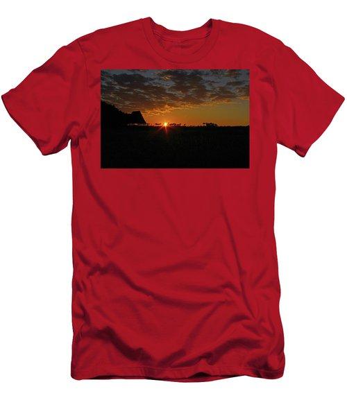 Sunrise In Botswana Men's T-Shirt (Athletic Fit)