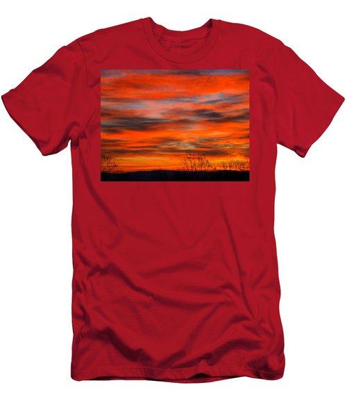 Sunrise In Ithaca Men's T-Shirt (Athletic Fit)