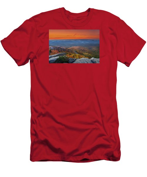 Sunrise On Rough Ridge  Men's T-Shirt (Athletic Fit)
