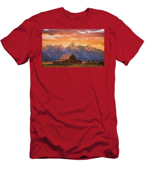 Sunrise On The Ranch Men's T-Shirt (Athletic Fit)